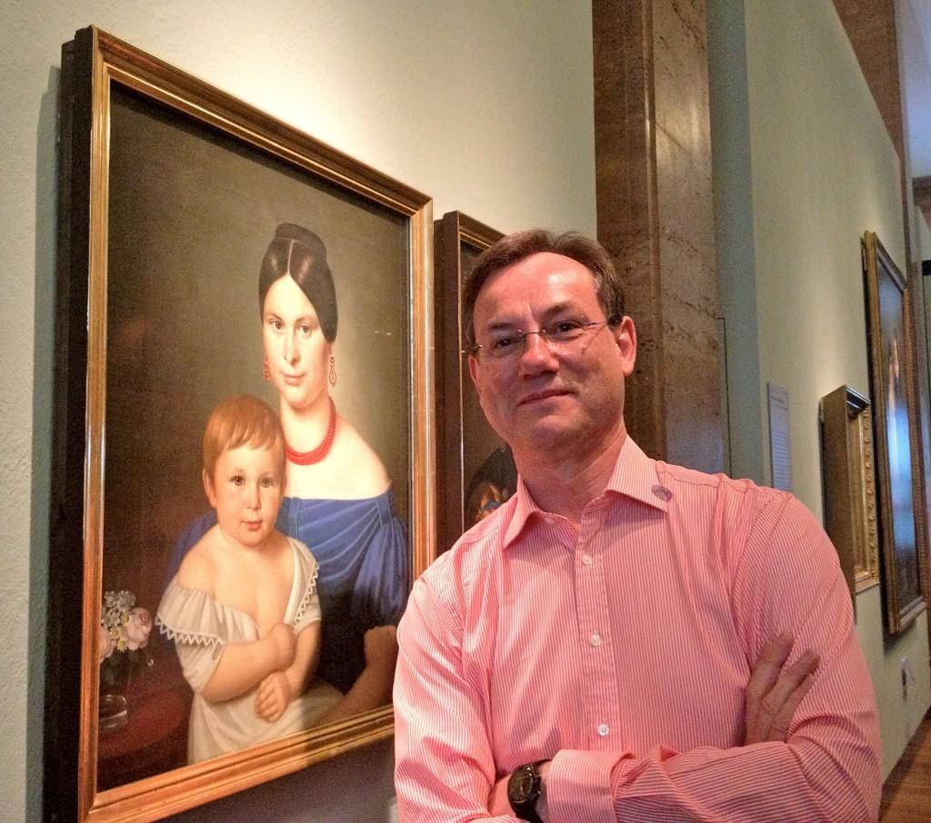 Peter Medhurst in the Deutsches Historisches Museum, April 2012