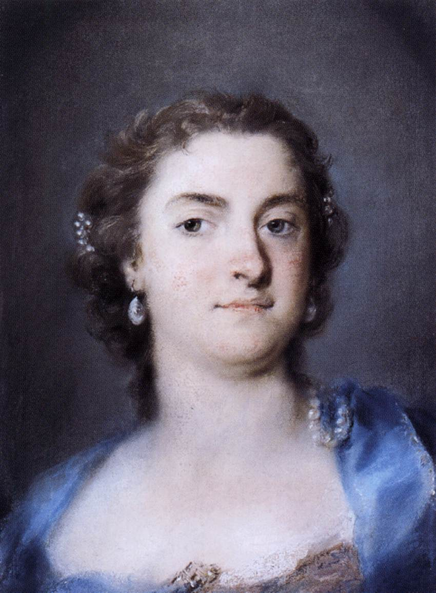 Faustina Bordoni by Rosalba Carriera