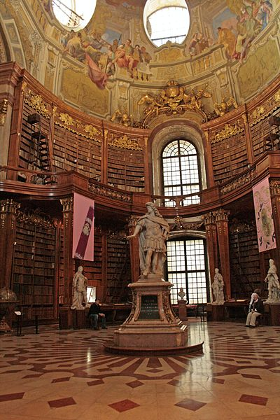 Stae Hall Natinal Library, Vienna